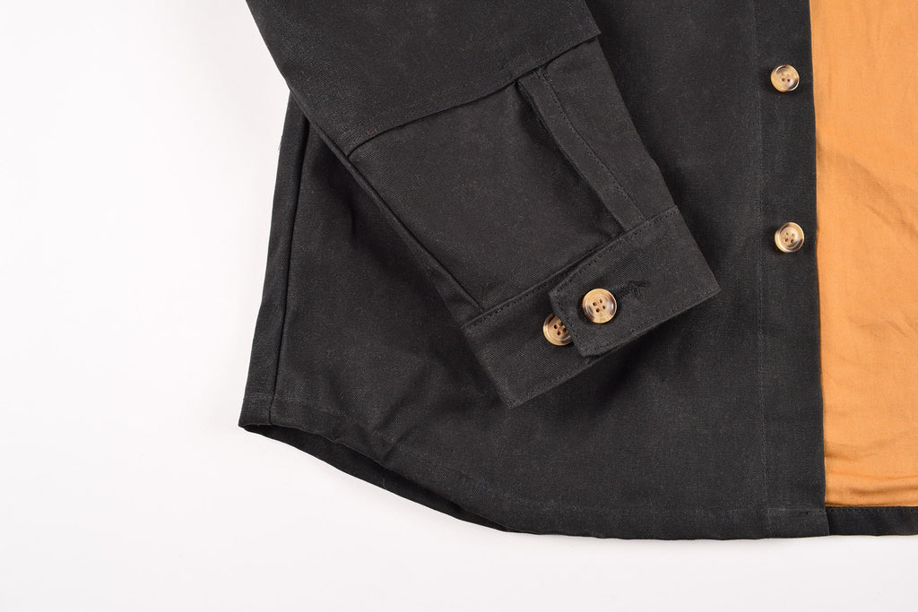 Dehen 1920 Crissman Black Waxed Canvas