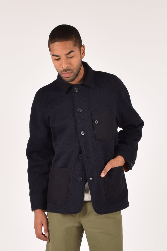 Dehen_1920_Knit_Chore_Coat_Dark_Navy