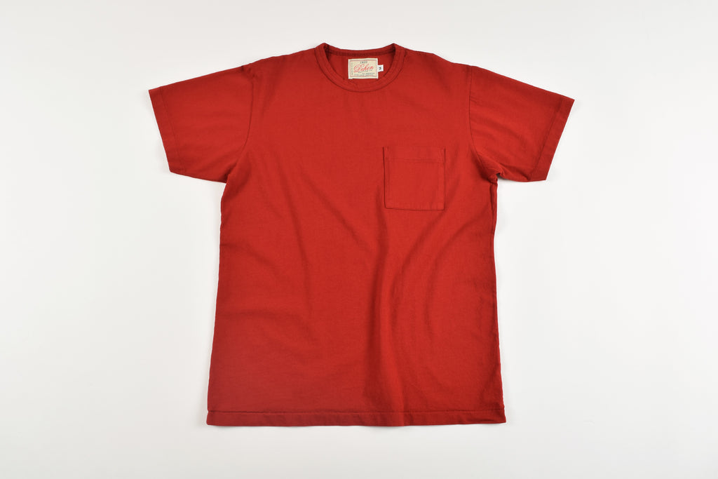 Dehen 1920 Heavy Duty Pocket Tee Red