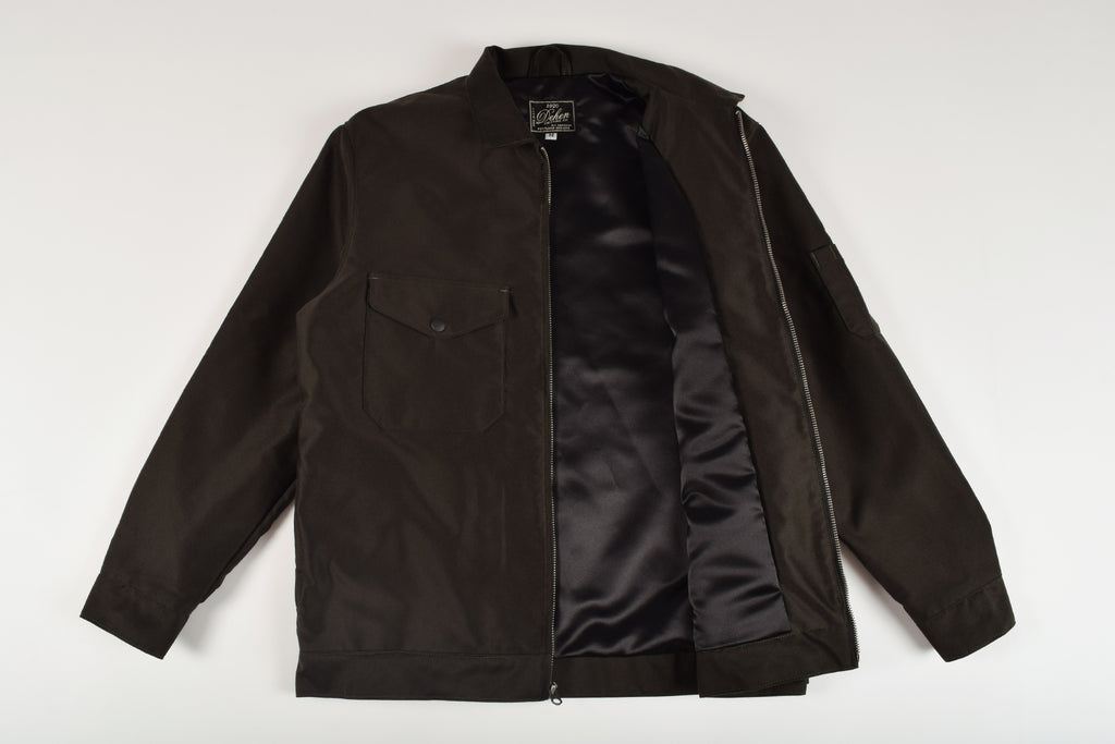Dehen 1920 Mechanics Decorated Jacket Black