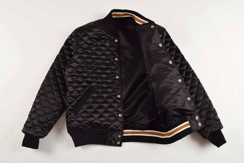 Reversible Satin Dugout Jacket