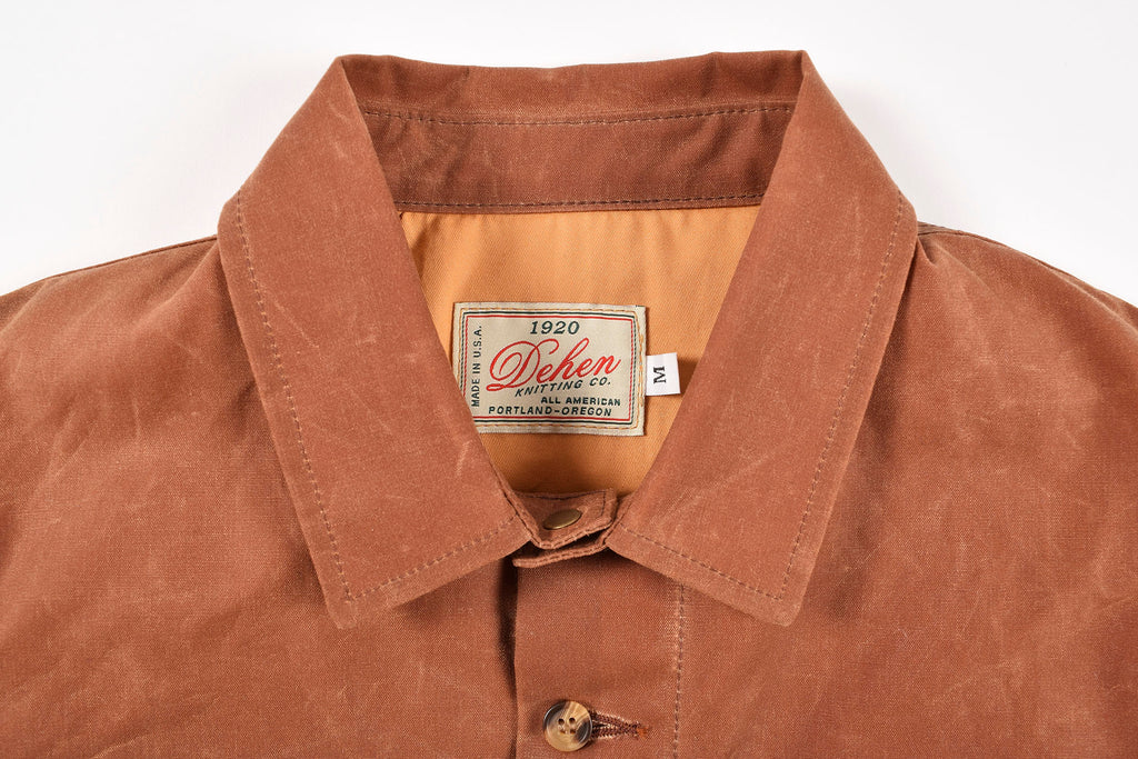 Dehen_1920_Crissman_Overshirt_Waxed_Canvas_Brush_Brown
