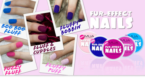MUA Nail Fur Effect