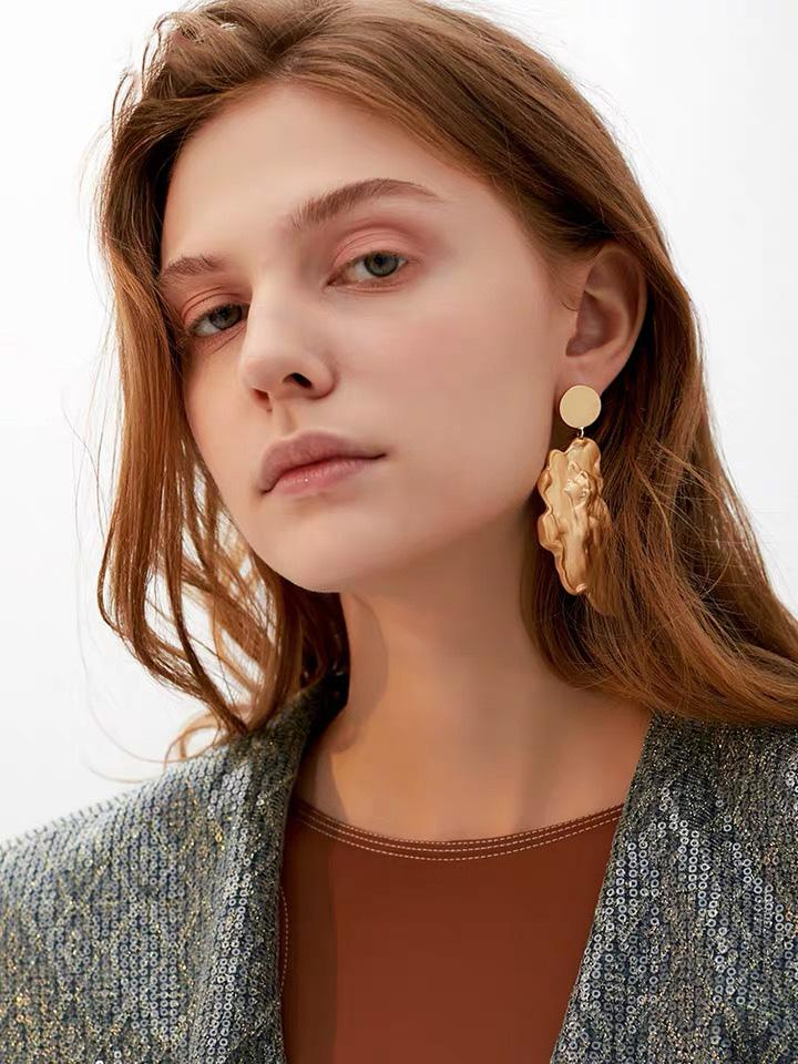 Accessories - Vintage Style Portrait Earrings