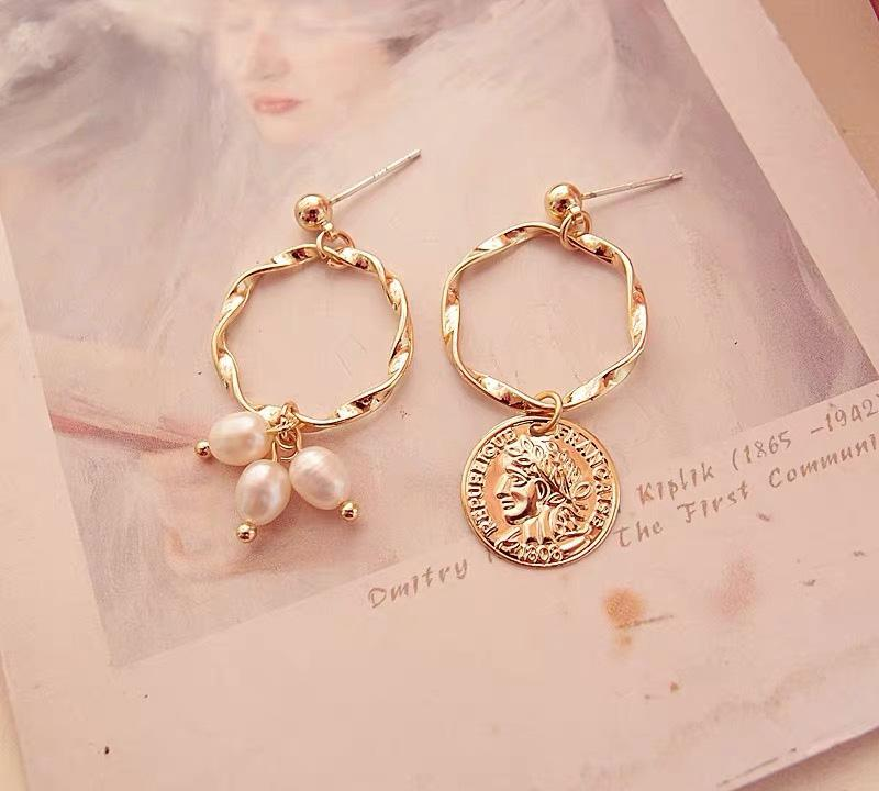 Jewelry Store - Vintage Coins Earrings
