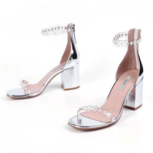 Shoes - New Fashion Arrival Pearls Straps Sandals