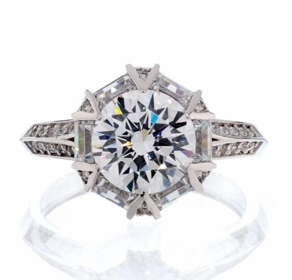cubic zirconia | fancy cubic zirconia engagement ring images | Boutique CZ