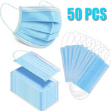 Filter Mask – 20/50/100Count 3-Ply Disposable Face Mask FDA Approved Earlo