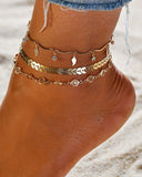 Weststylish Summer Beach Holiday Anklet Jewelry