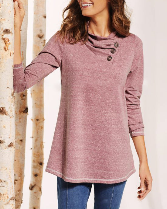 Weststylish Casual Pleated Long Sleeve Button T-Shirt(4 Colors)
