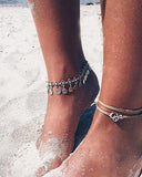 Weststylish Geometric Shell Anklet