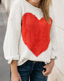 Weststylish One-word Collar Intarsia Sweater