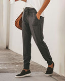 Weststylish Drawstring Casual Pencil Pants