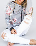Weststylish Long Sleeves Casual Hoodies
