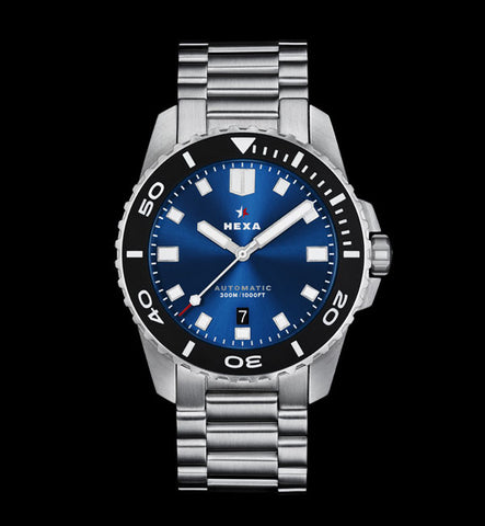 Osprey Dive Watch </br>Blue Sunray