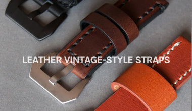Vintage-Style Leather Straps