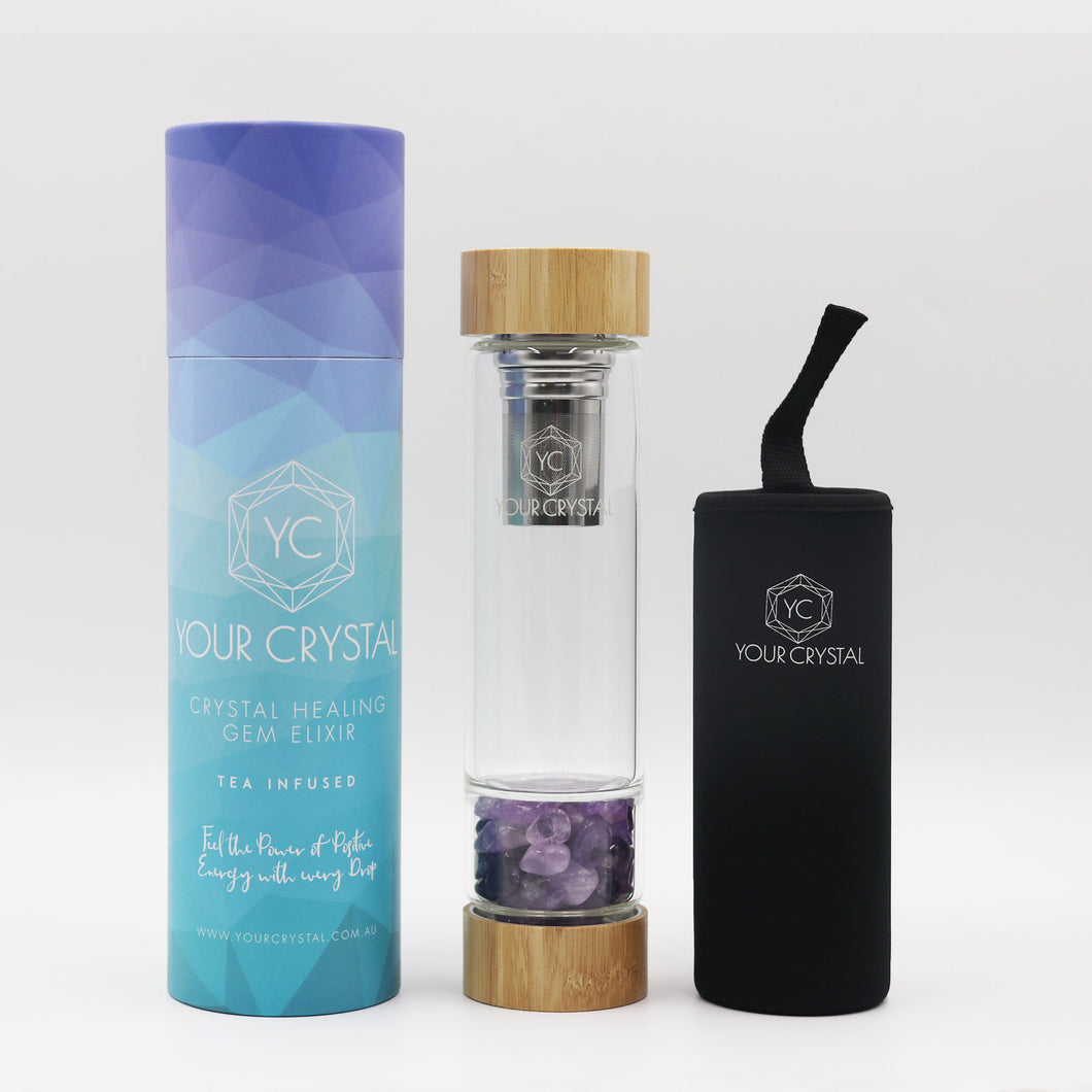 AMETHYST - BAMBOO INFUSED BOTTLE