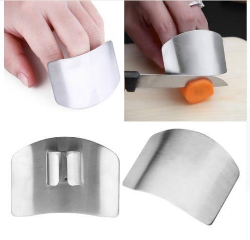 Stainless Steel Finger Hand Protect Guard Chop Safe Slice Knife Kitchen Tool