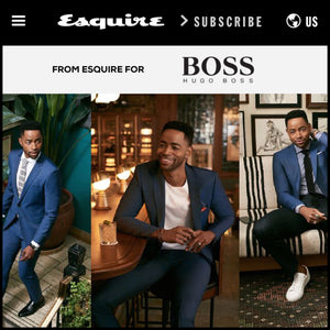 esquire magazine, one suit four ways