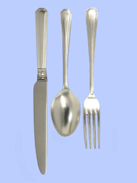 New Silver Flatware - 'Art Deco' Athenian Pattern