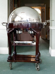 Refurbished beef carving trolley