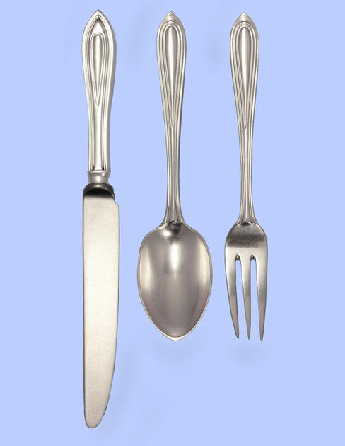 New Hand-Forged Silver Flatware - Rochester Pattern