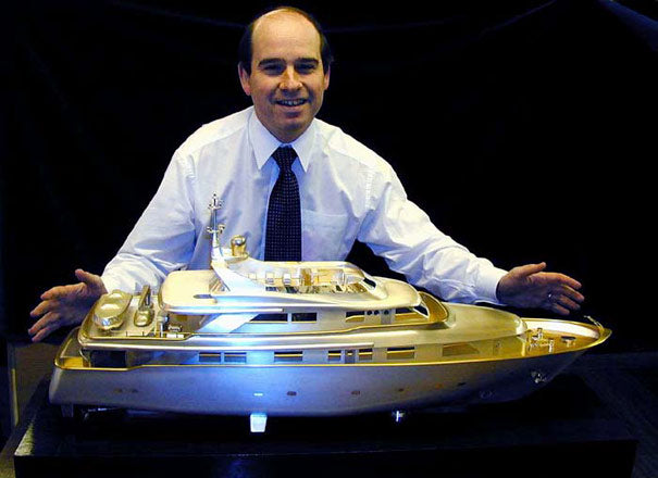 Silver and Crystal for Superyachts and Megayachts