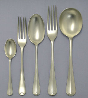Replated flatware