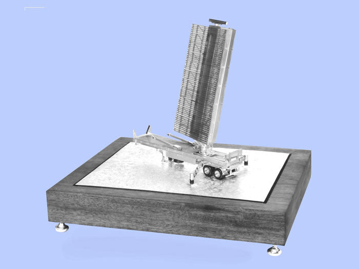 Silver Model of the Martello Air Surveillance Radar System