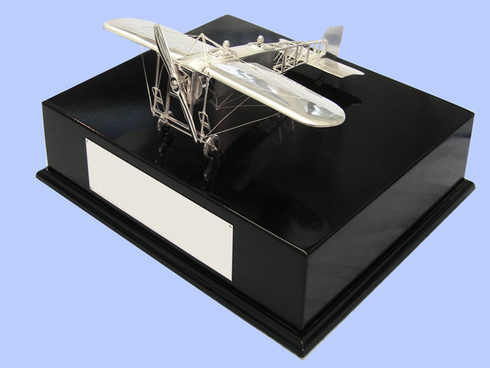 Silver Model of the Bleriot XI