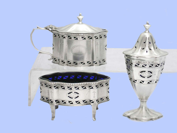 Silver Condiment Set 1937