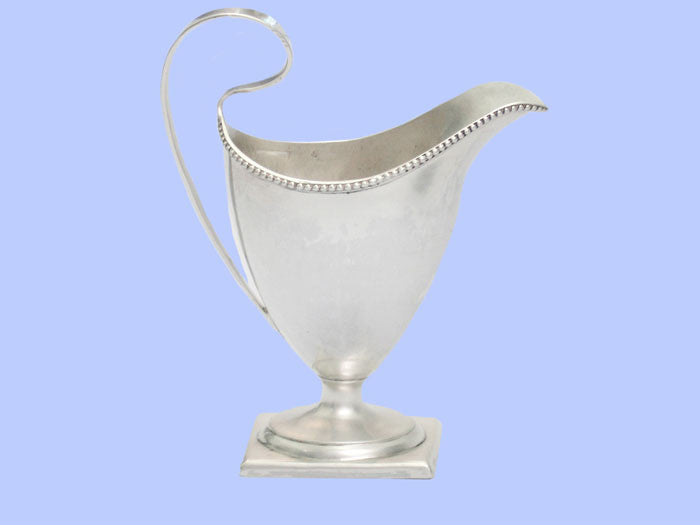 George III Silver Cream Jug 1784