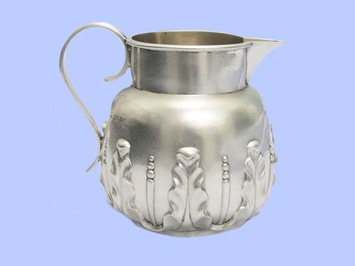 Victorian Large Silver Jug
