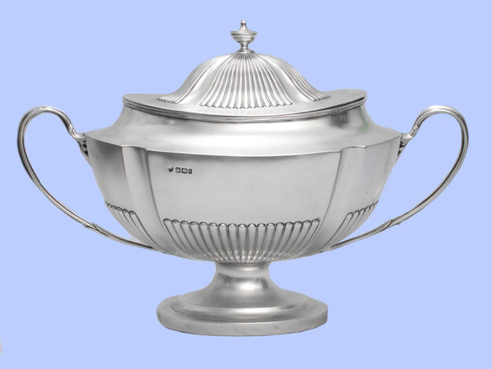 Late Victorian Silver Soup Tureen