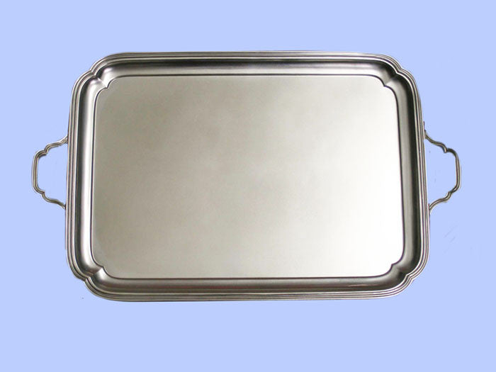 Large Oblong Silver Tray