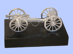 Silver Model of a Waterloo Cannon