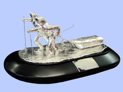 Silver Model of a Pair of Antarctic Trekkers