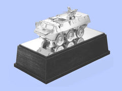 Silver Model of the Saviem Armoured Vehicle