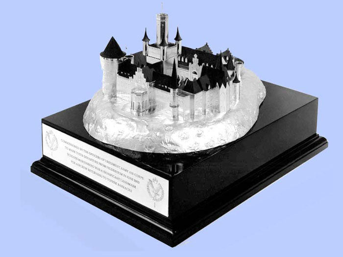 Silver Model of the Schloss Marienberg