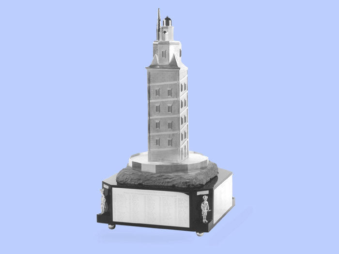 Silver Model of the Corunna Lighthouse