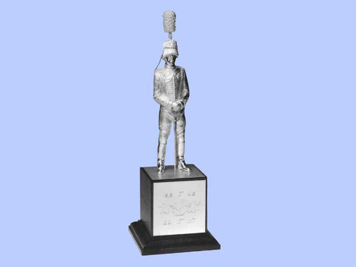 Silver Statuette of a Royal Horse Artillery Officer