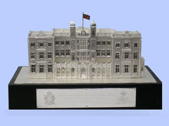 Silver Model of the Royal Military School of Music