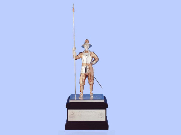Silver Model of a Pikeman