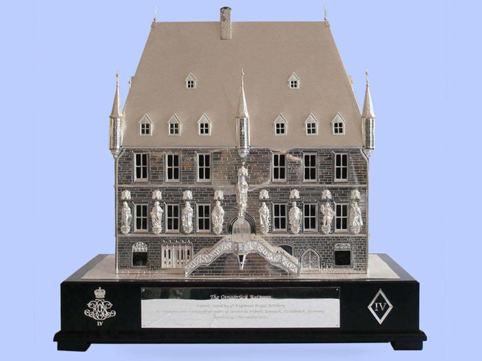 Silver Model of the Osnabruck 'Rathaus'