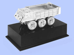 Silver Model of the Stalwart Truck