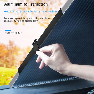 Car Window Sunshade Curtain With UV Protection