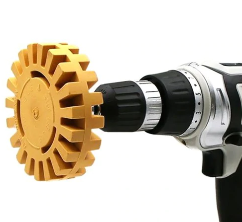 Pneumatic Degumming Rubber Grinding Wheel Tire Polishing Tool