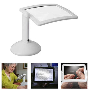 Desktop desktop magnifier large screen with LED lights