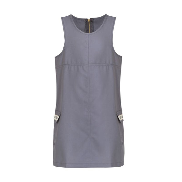 Grey girl's pinafore