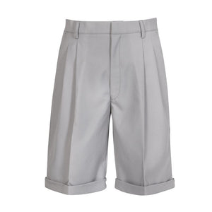 Grey Chino  Shorts Male(compulsory)
